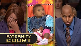 McKinney v. Brown: A husband believes more than a sex tape was produced when his wife slept with another man. She is in court to prove her 11–month-old daughter is indeed his.  Subscribe: https://bit.ly/PaternityCourtYT 