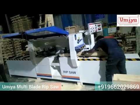 Multiple Blade Rip Saw