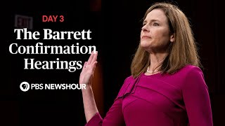 WATCH LIVE: Judge Amy Coney Barrett Supreme Court confirmation hearings - Day 3