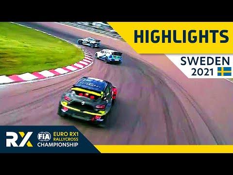 世界ラリークロス 第4戦スウェーデン(ホーリエス)2021年 RX1クラスの予選Day1ハイライト動画