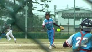 山脇投手ソフトボール研究中球速のコツをコメント記入してください.