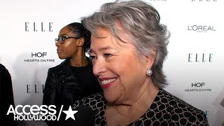 'AHS': Kathy Bates Was 'So Psyched' For Her Role | Access Hollywood