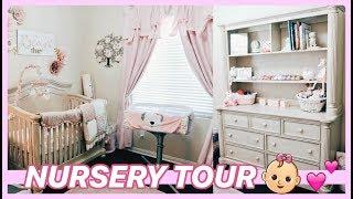 BABY GIRL NURSERY TOUR 👶🏼💕