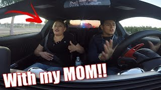 POLICE vs MUSTANG GT!! (SCARY HIGH SPEED CHASE)