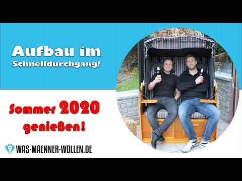 Strandkorb Ostsee XXL Volllieger von Möbelcreative - Aufbau, Test und Review