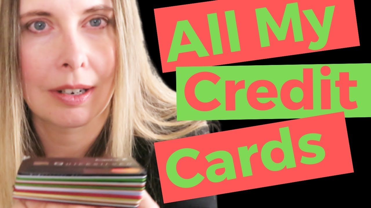 All My Credit Cards – The Number Of Credit Cards Do I Have? Part One