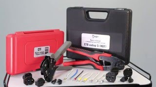 CTB and CTF crimping sets