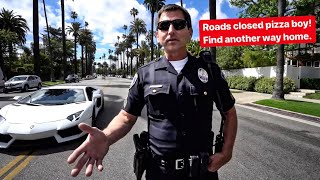YOU WON'T BELIEVE WHAT BEVERLY HILLS POLICE LET US DO...