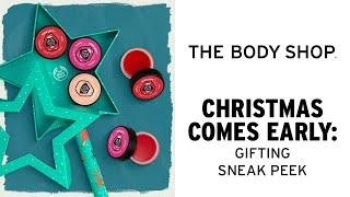 Christmas Comes Early at The Body Shop -The Body Shop