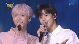 뮤직뱅크 Music Bank in JAKARTA - [SPECIAL STAGE] 은우&산하 - Happy (Happy - EUN-WOO&SAN-HA). 20170930