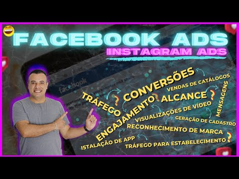 Objetivos de Anuncios Facebook Instagram - qual objetivo usar na minha campanha?   facebook ads