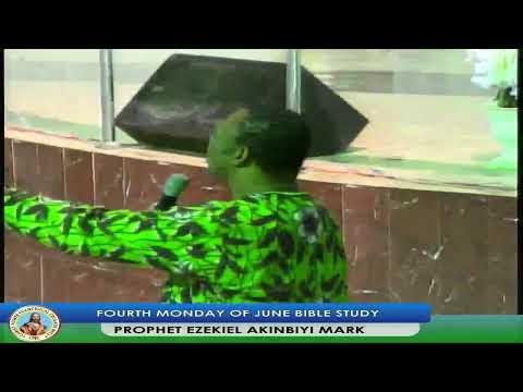 FOURTH MONDAY OF JUNE BIBLE STUDY(2019)