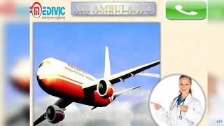 Get Air Ambulance Service in Bokaro and Jamshedpur by Medivic Aviation