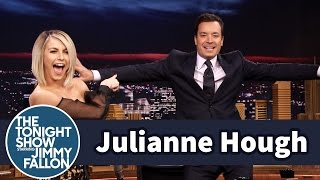 Julianne Hough Helps Jimmy Finda Go-To Dance Move