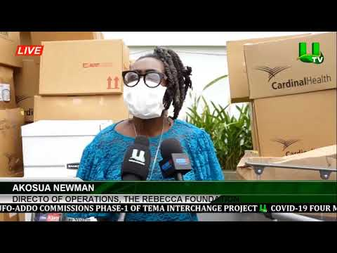 Rebecca Foundation Donates To Hospital And Institutions