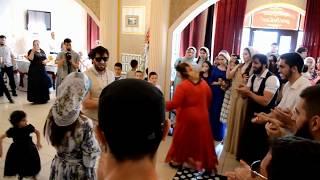 Халиев Хусейн танцует лезгинку на свадьбе в Грозном 18.08.2017