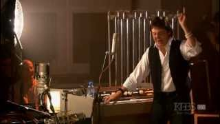 Paul McCartney shows the Mellotron