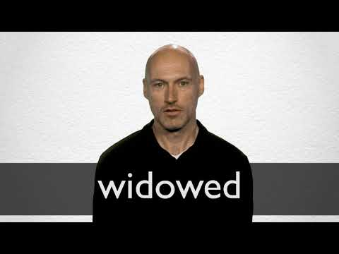 Widowed definition and meaning | Collins English Dictionary