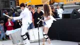 Swing da Cor (cover Daniela Mercury) por Rapercussion. Seul, South Korea