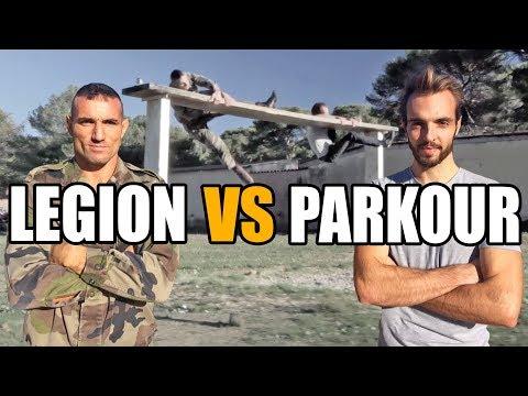 Parcours du combattant : LEGION vs PARKOUR (feat. Major Gérald & Clément Dumais)
