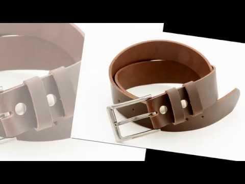 Cinturones de Cuero Anchos Para Hombres
