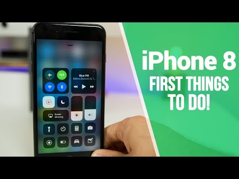 iPhone 8 – First 8 Things To Do!