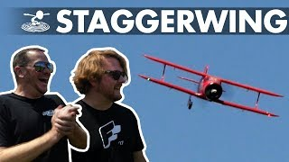 The Little Staggerwing that Could | Alex attempts a one-wheel landing - Video Youtube