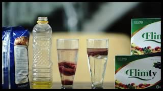 Flimty Fiber 1 box 16 sachet BPOM halal mui - berry buah detox diet goji herbal pelangsing alami slim slimming