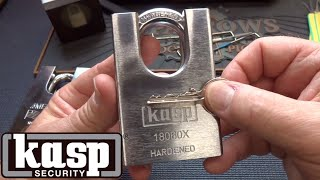 (1319) Kasp 18060S Shielded Padlock Upgrade!