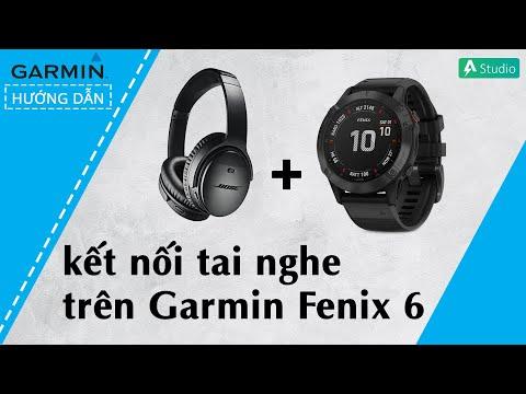 [Hướng dẫn] Kết nối tai nghe bluetooth với Garmin Fenix 6/6S/6X