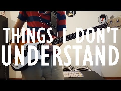 Coldplay - Things I Don't Understand | Bass cover