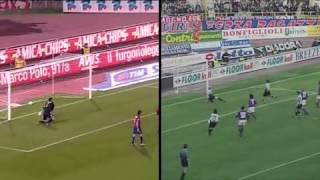 FreeKick Delpiero dan Nedved Juventus Vs Bologna