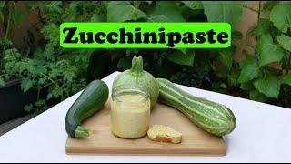 Zucchini-Paste super lecker selber machen