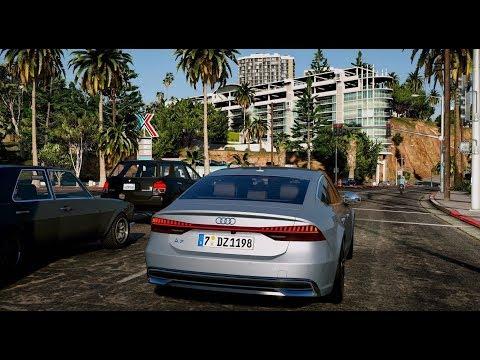 GTA 5 With Natural Vision ENB - игровое видео смотреть