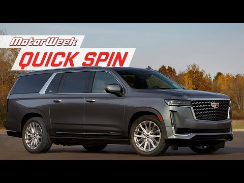 External Review Video TUmGA3IFFyI for Cadillac Escalade SUV (5th Gen)