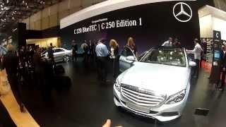 Nouvelle Mercedes Classe C (Genève 2014)