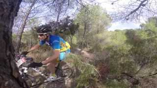 preview picture of video 'Marcha BTT Tuejar Team Agulles Scott'