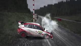 Dirt Rally-crash compilation #4 (PS4)
