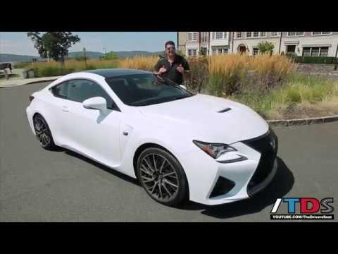 FIRST DRIVE! 2015 Lexus RC F