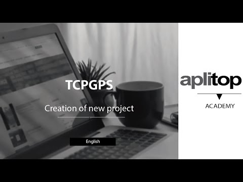 TcpGps. Creation of new project