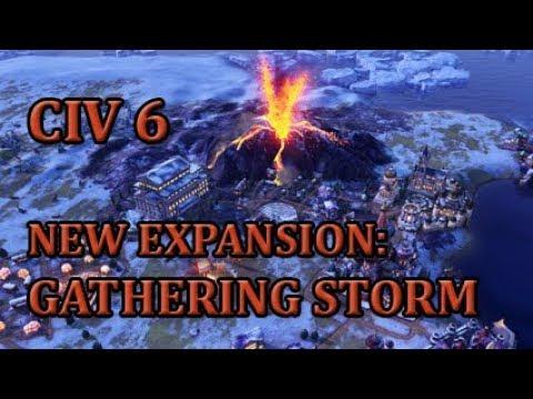 Let's Talk About Civilization 6 - Gathering Storm | Features