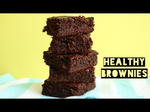 Video Healthy Dairy Free Brownie Recipe | How To Make Low Calorie, Low Fat, Low Carb Brownies