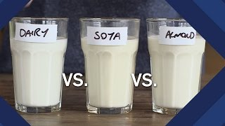 Are Milk Substitutes Healthier Than Cow's Milk? | Earth Lab