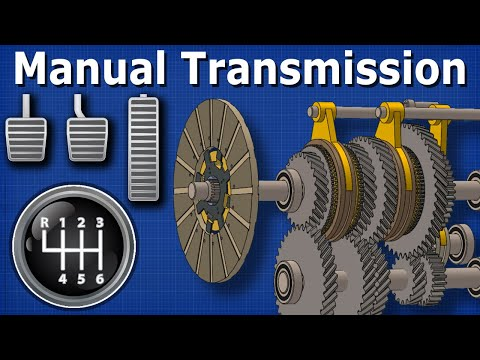 How Manual Transmission works - automotive technician shifting ...