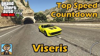 Fastest Sports Classics (Viseris)   GTA 5 Best Fully Upgraded Cars Top Speed Countdown