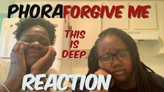 Phora   Forgive Me [Official Music Video] |REACTION| Ona&Lina Show