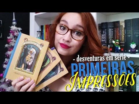 Desventuras em Série - Primeiras Impressões | Vlogmas #13 | Resenhando Sonhos