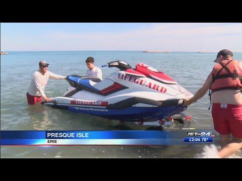 AHN and Saint Vincent present Presque Isle Lifeguard Association brand new Jet Ski
