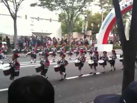 堺まつりパレード2010(5)宝珠学園幼稚園