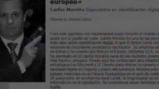 Carlos Creus Moreira presenting the History of WISekey